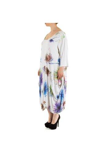 Neckermann Damen Kleid Gr. one size - white