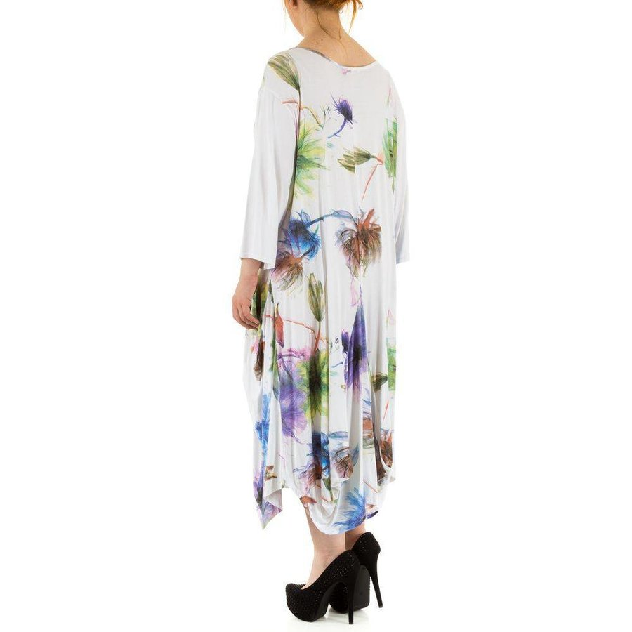 Damen Kleid Gr. one size - white