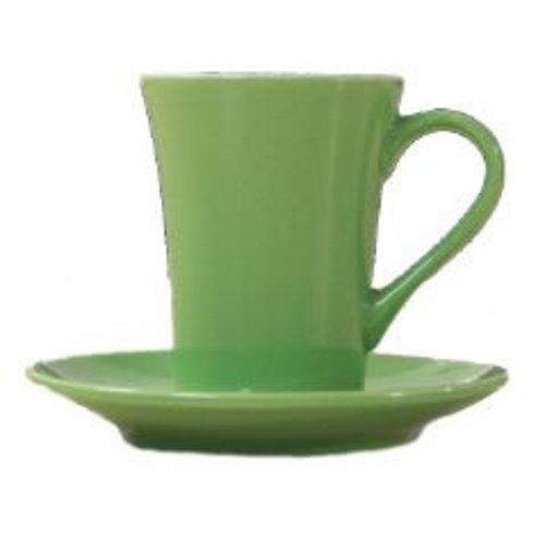 Neckermann Kop en schotel groen 180 ml