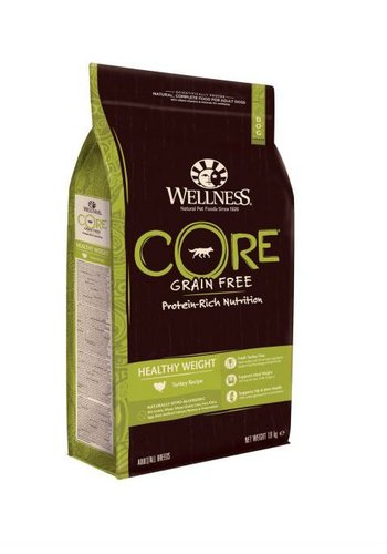 Wellness Core Grain Healthy Weight met kalkoen 1,8 kg