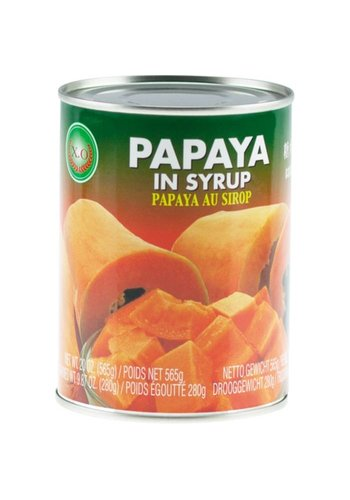 X.O Papaya in siroop 565 gram
