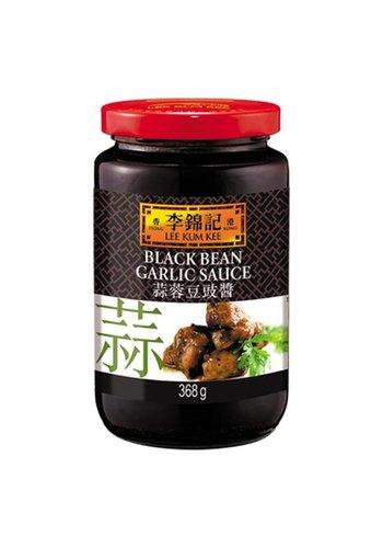 Leekumkee Zwarte bonen saus met knoflook 368 gram