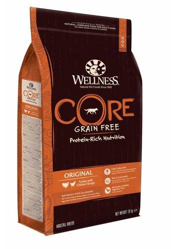Wellness Core Grain Free Dog Original Kalkoen&Kip 1,8 kg
