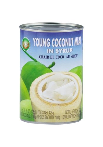 X.O Jonge kokosvlees in siroop 425 gram