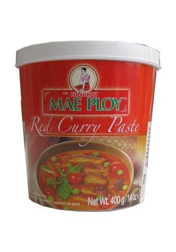 Mae Ploy Pâte de curry rouge 400 grammes