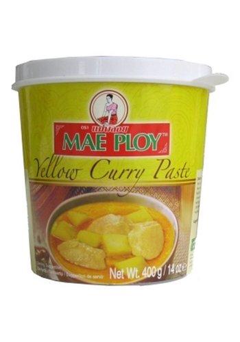 Mae Ploy Pâte de curry jaune 400 grammes