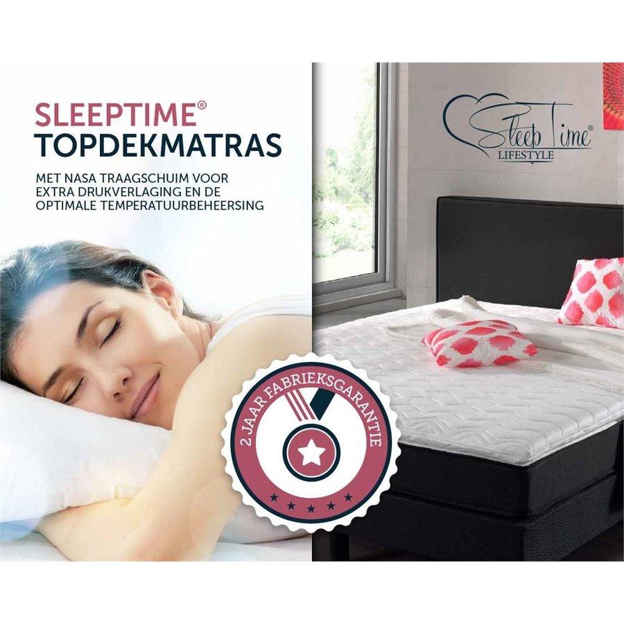 Sleeptime Nasa Traagschuim Topdekmatras [5 cm]
