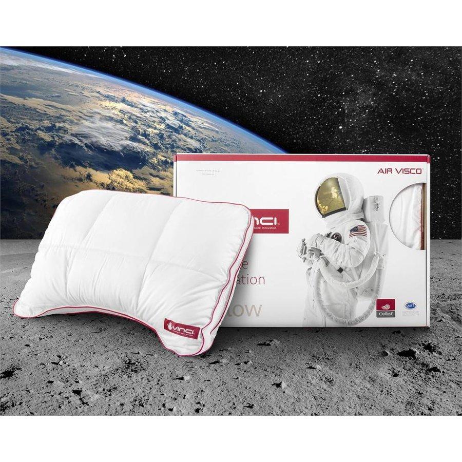 Vinci Micropercal Deluxe Shoulder Pillow White
