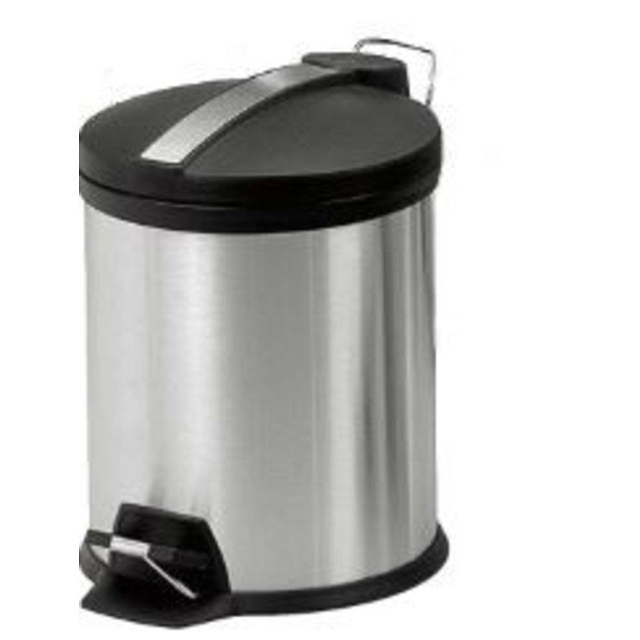 Pedaalemmer RVS 5,8, 12 of 20 liter