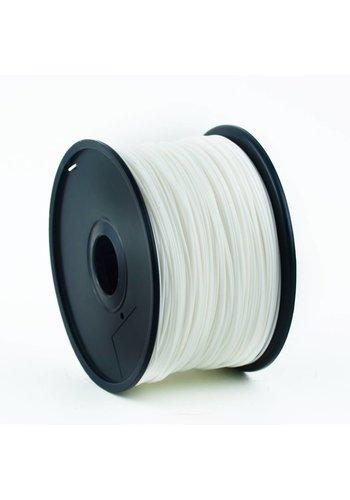 Gembird3 PLA plastic filament voor 3D printers, 3 mm diameter, wit