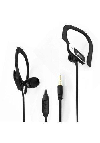 Neckermann Stereo-Headset - Kopfhörer - schwarz oder pink