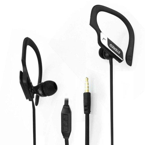 Neckermann Stereo headset - Oortelefoon - zwart of roze