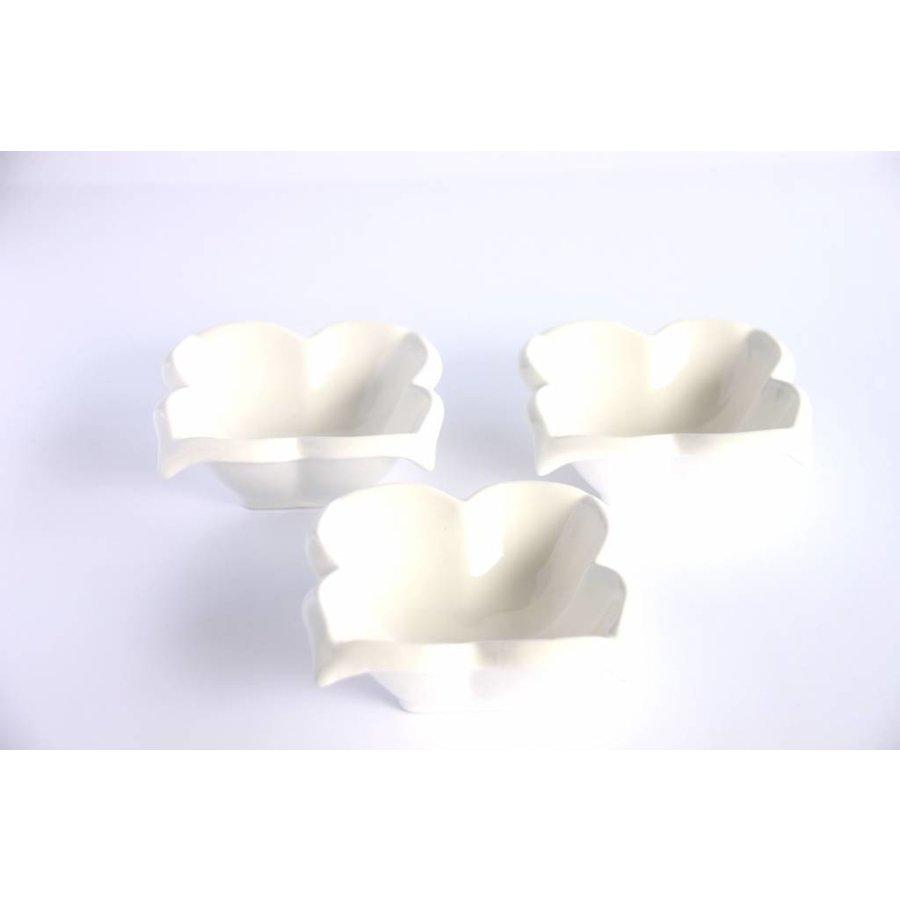 Snack Dish Party Time Porcelain - Copy