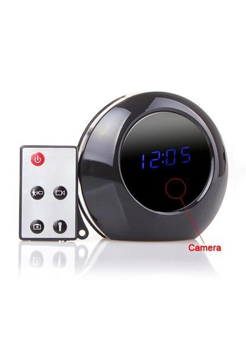 Neckermann Multi-function Alarm klok met HD Camera en Monitor
