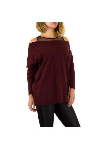MOEWY Damessweater van Moewy Gr. één maat - wijn