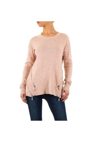 MOEWY Dames Sweater van Moewy Gr. één maat - roos