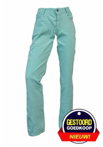 Neckermann Dames broek regular fit met stretch licht-groen