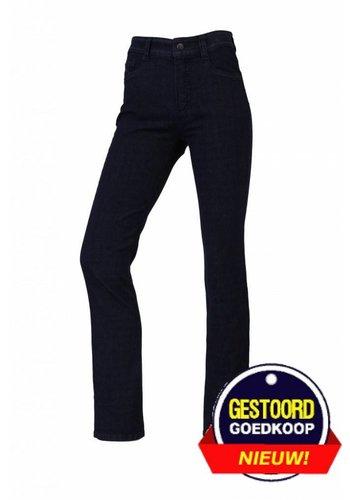 Neckermann Pantalon femme coupe confort avec stretch bleu foncé