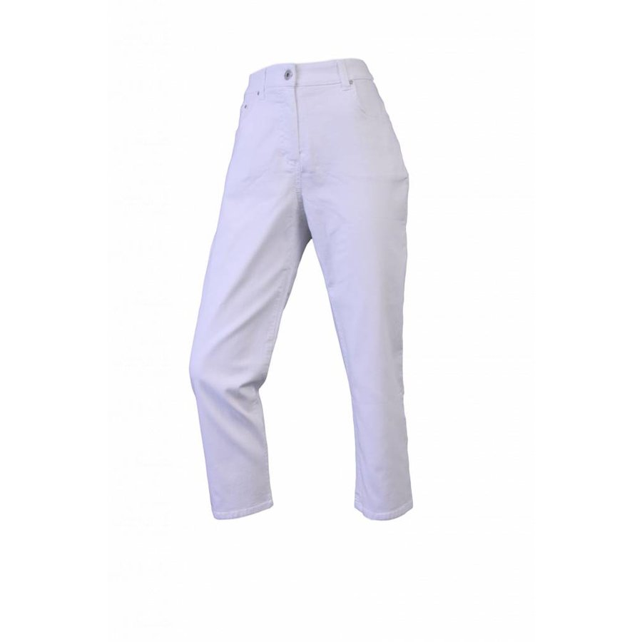 Damenhose Regular Fit mit Stretch Weiß