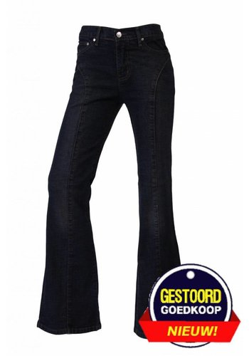 Neckermann Dames flared broek donker-blauw