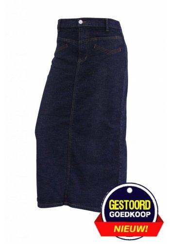 Neckermann Dames spijkerrok donker-blauw