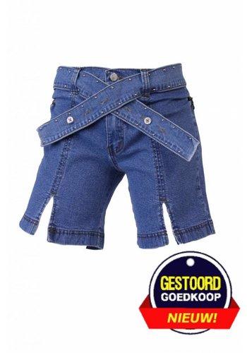 Neckermann Dames spijker broek rok licht-blauw