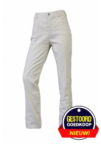 Neckermann Dames broek regular fit met stretch licht-geel