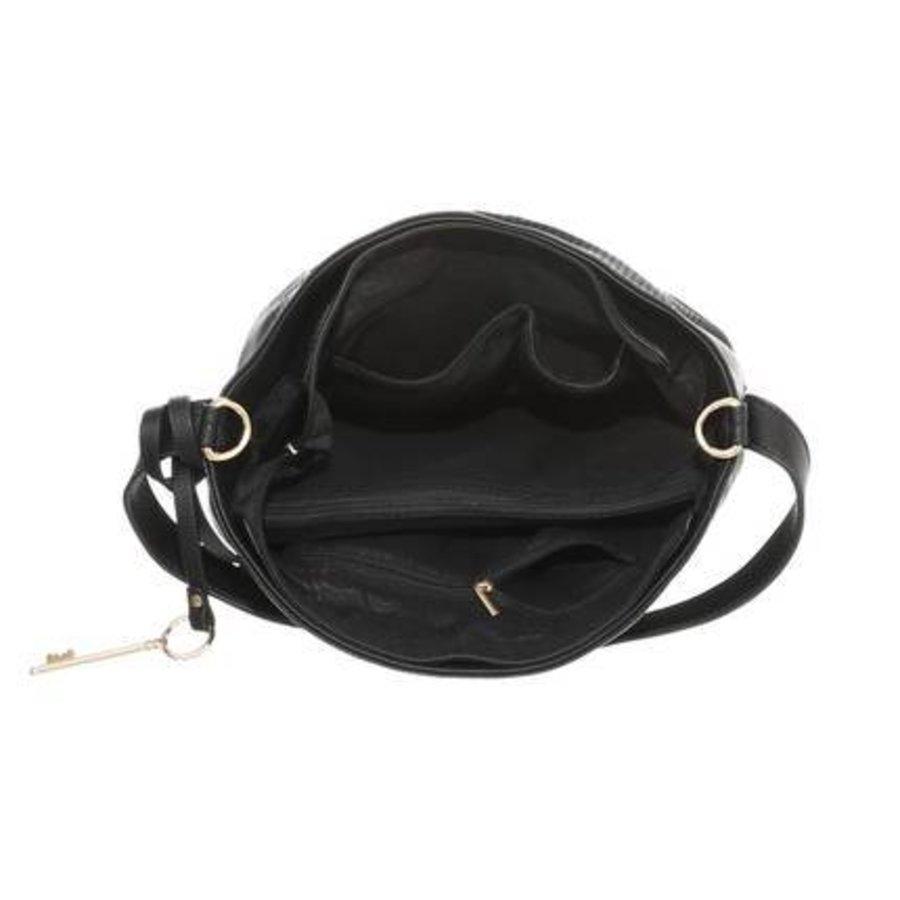 Damen Schultertasche-black