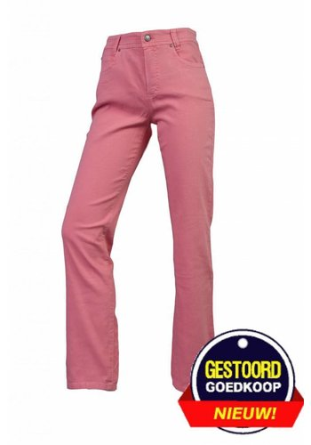 Neckermann Pantalon femme coupe classique avec stretch rose