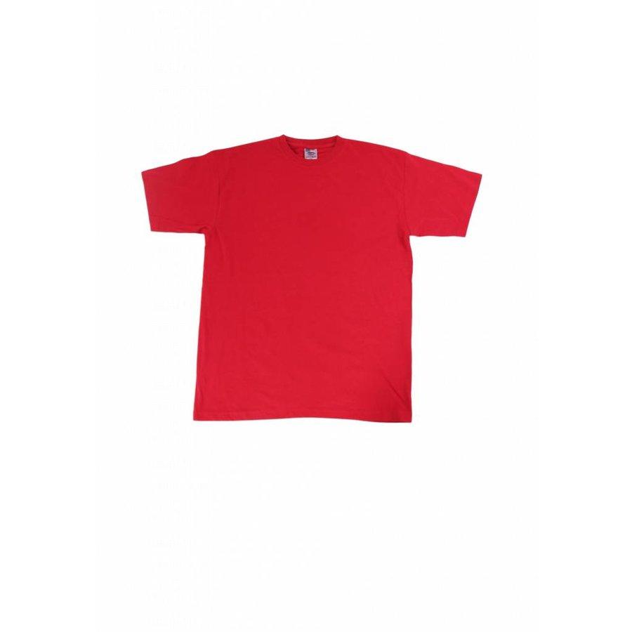 T-shirt heren rood