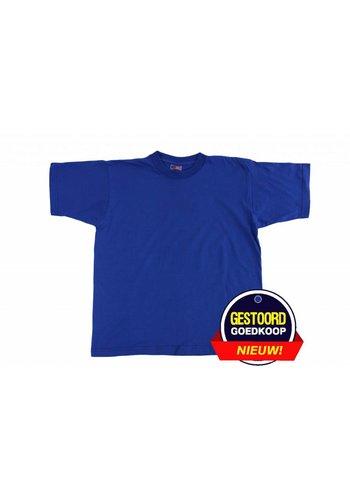 Neckermann T-Shirt Unisex für Kinder Kobaltblau