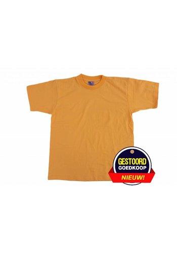 Neckermann T-shirt unisex voor kinderen geel