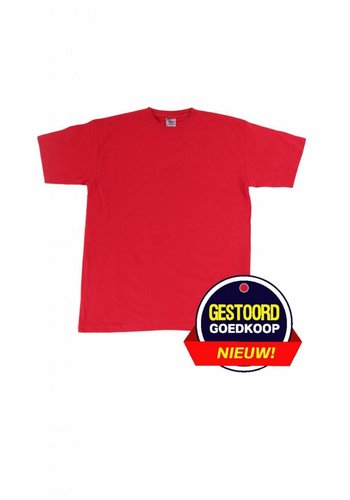 Neckermann T-shirt heren - comfortabel - rood