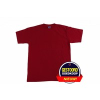 T-shirt heren rood - Copy