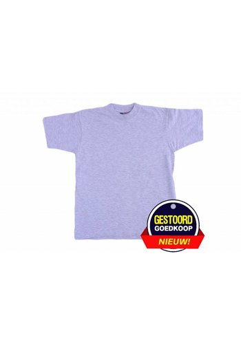 Neckermann T-Shirt unisex für Kinder hellgrau