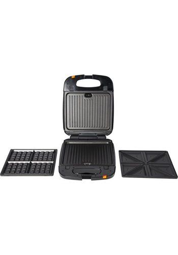 Trebs 3-in-1 Snackmaker XXL - contactgrill
