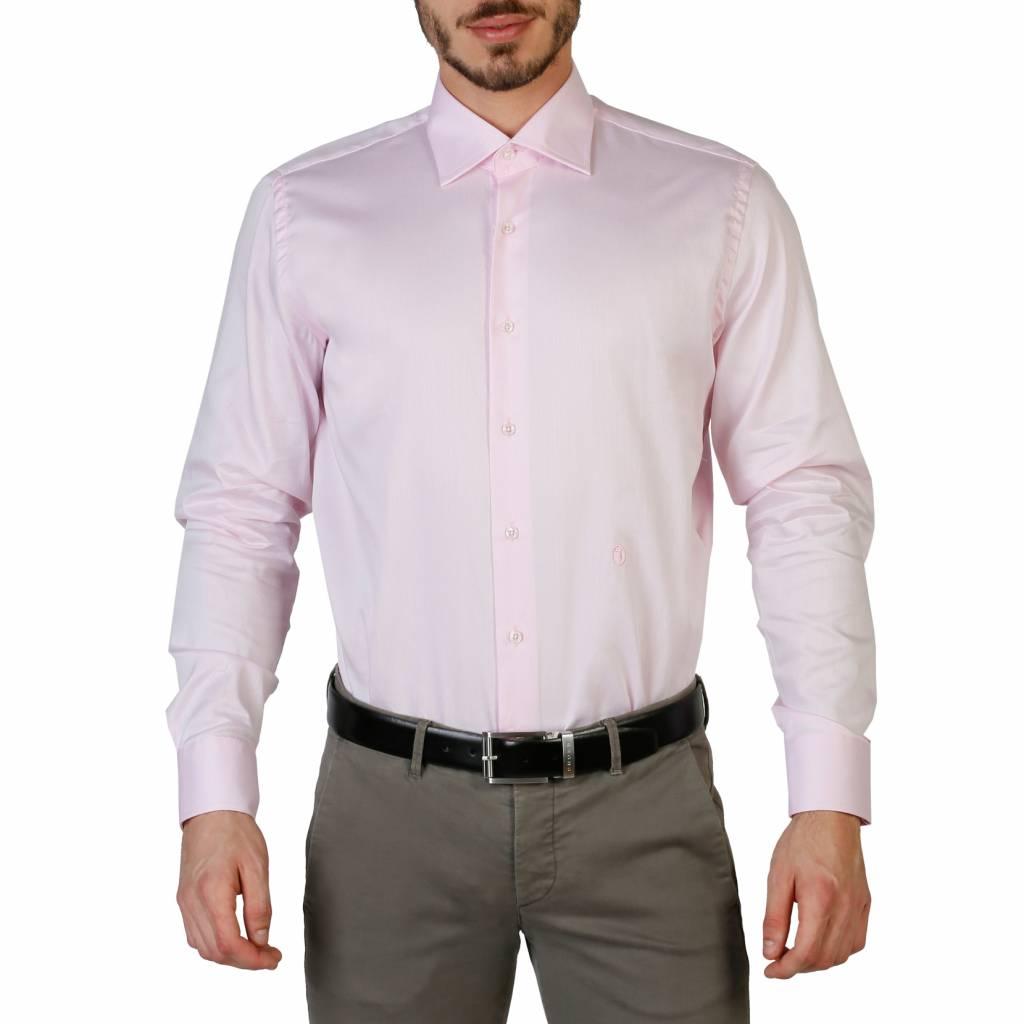 Roze Heren Overhemd.Trussardi 32c20sint Neckermann Com