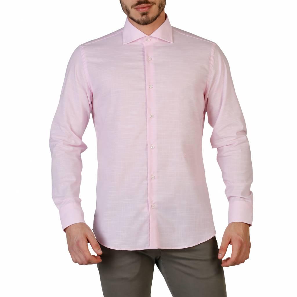 Roze Heren Overhemd.Trussardi 32c17sint Neckermann Com