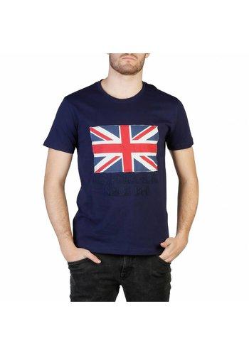 U.S. Polo Heren T-shirt van U.S. Polo - dk.blauw