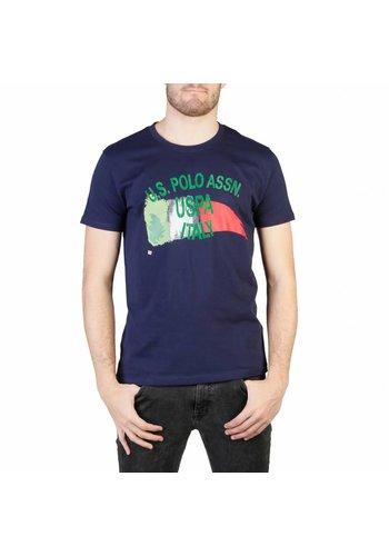 U.S. Polo Assn. Tee-shirt pour homme de US Polo - bleu
