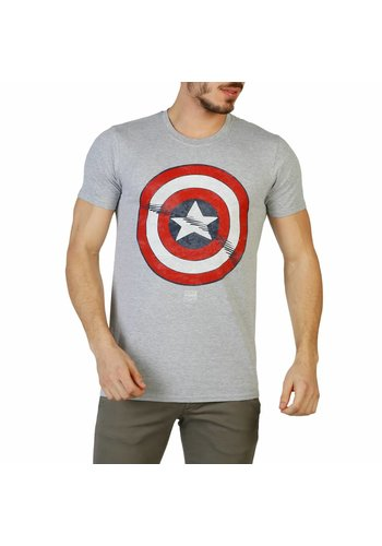Marvel Heren T-Shirt van Marvel - grijs