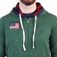 Herren Weste von US Polo - grün