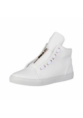 Duca di Morrone Heren Sneaker van Duca di Morrone DUSTIN - wit