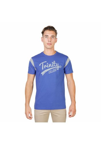 Oxford University Tee-shirt homme, Oxford University TRINITY-VARSITY-MM - bleu