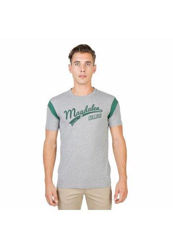 Oxford University Männer T-Shirt von der Universität Oxford MAGDALEN-VARSITY-MM - grau