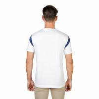 T-shirt pour hommes de l'Université d'Oxford ORIEL-VARSITY-MM blanc