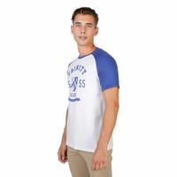 Männer T-Shirt von der Universität Oxford TRINITY-RAGLAN-MM - weiß / blau