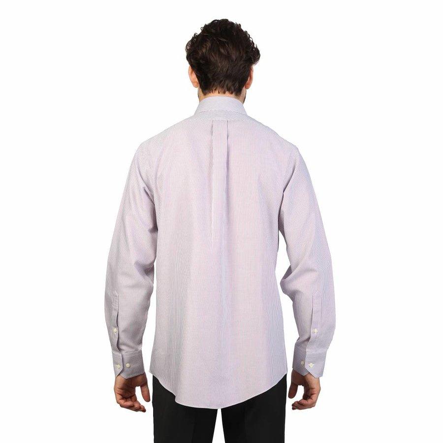 Heren Overhemd Rood.Brooks Brothers 100040492 Neckermann Com