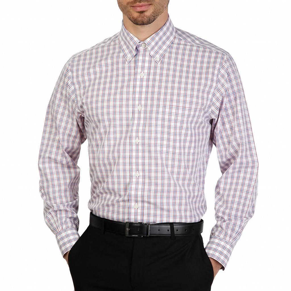 Rood Heren Overhemd.Brooks Brothers 100040433 Neckermann Com