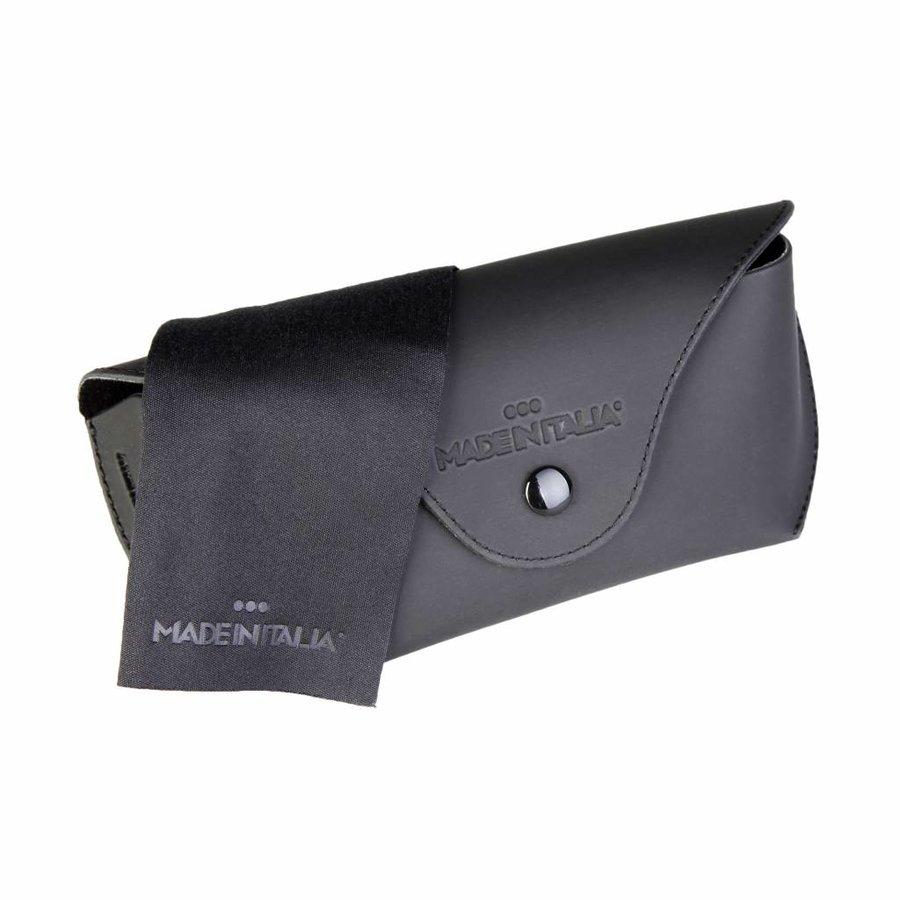Sonnenbrille von Made in Italy PANTELLERIA - schwarz / gelb